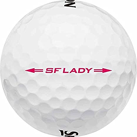 Srixon Softfeel Lady Bolas 2 Capas de Golf, Mujer