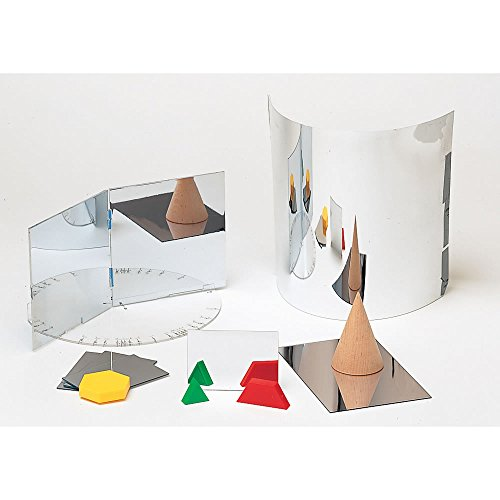 Eta Hand2mind Plastic Mirrors 4 Quot X 6 Quot Pack Of 4