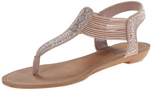 887865299431 - Madden Girl Women's Teager Flip Flop, Blush Fabric, 6 M US carousel main 0
