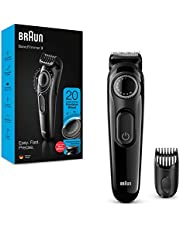Braun BT3221 Beard Trimmer for Men Cordless & Rechargeable Hair Clipper