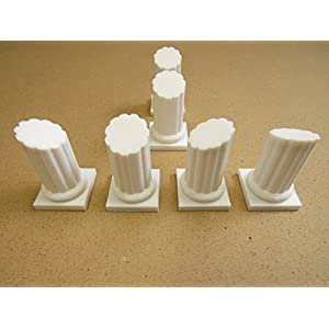 Pillars-Terrain-Scenery-for-Tabletop-28mm-Miniatures-Wargame-3D-Printed-and-Paintable-EnderToys