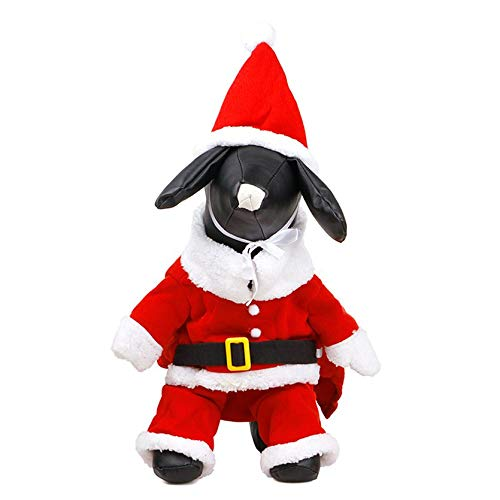 Sylvialuca Le père Noël s'est transformé en vêtement pour Chien