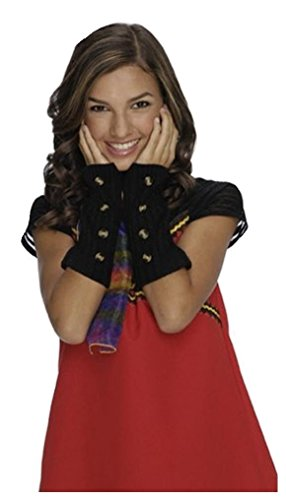 Wizards of Waverly Place Alex Black Arm Warmers
