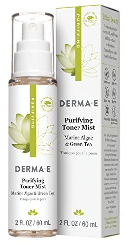 DERMA E Purifying Toner Mist for pH-Balanced Skin, 2oz