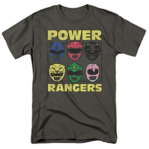 Power Rangers Masks T Shirt -