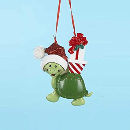 Kurt Adler Turtle Christmas Ornament for Personalization - Amazon.com: Kurt Adler Turtle Christmas Ornament For Personalization