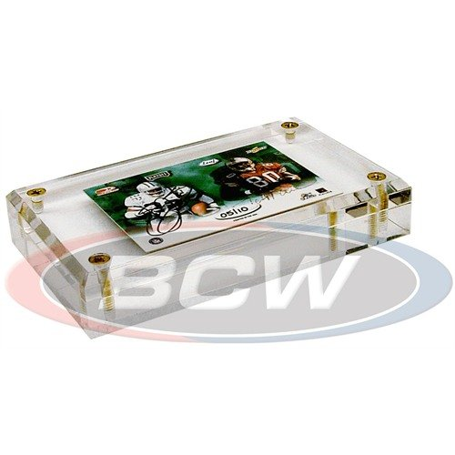 BCW 1-A100 1 inch Acrylic Card Holder by BCW