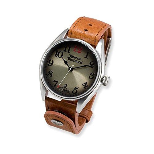 Mens Vivienne Westwood Heritage Tan Strap Watch