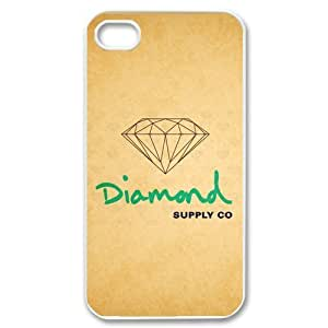 First Design Diamond Supply CO Image Iphone 4/4s Hard Case