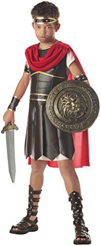 Boys Hercules Kids Child Fancy Dress Party Halloween Costume, M (8-10)