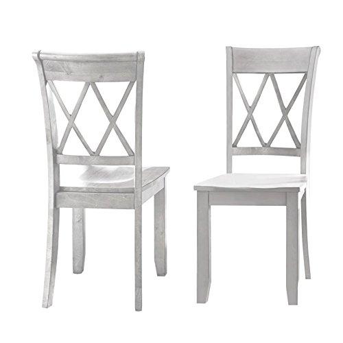 Steve Silver Aida Dining Chair in Vanilla