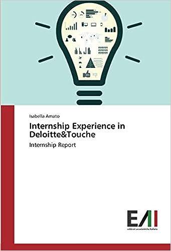 Internship Experience in Deloitte&Touche: Internship Report