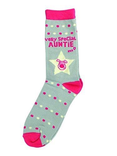 best wholesaler best website price reduced Boofle Very Special Auntie Socks - Ladies Size 4-7