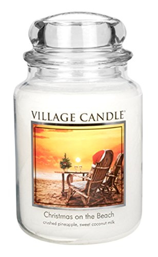 Village Candle Christmas Beach Scented product image