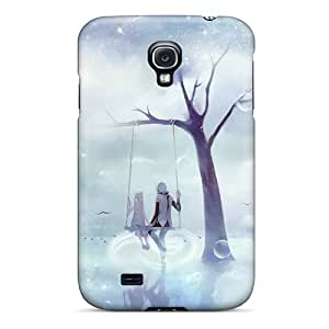 [sft192QqZC]premium Phone Case For Galaxy S4/ Hatsune Miku Megurine Luka Kagamine Rin Tpu Case Cover
