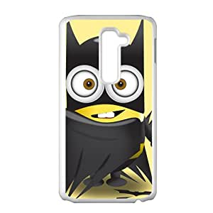 SVF Red cloth lovely Minions Cell Phone Case for LG G2