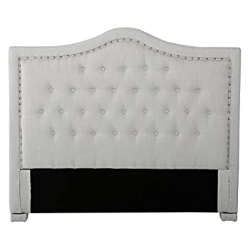 Denise Austin Home Ronan Full/ Queen Upholstered Tufted Fabric Headboard