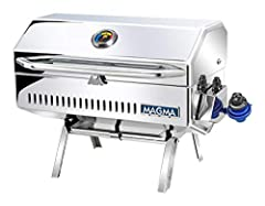 Build great memories on the water with Magma's completely redesigned Newport 2 Classic Gourmet Series Gas Grill. This finely crafted grill is perfect for grilling steaks, burgers, or anything in between. New features include: rounded edges fo...