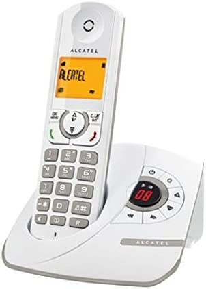 Alcatel Inspire F330 FR teléfono inalámbrico con Pantalla Gris: Amazon.es: Electrónica