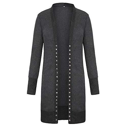 Ropa Parka Chaquetas Capa Invierno Abrigos Mujer Pullover Grande Mujer Talla Gris Jacket Oscuro Ashop TqnFvwF