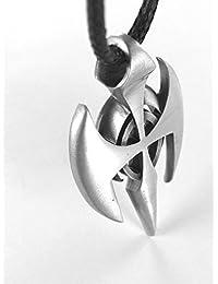 Aariel, Special Cross Pendant, Including a Black Choker