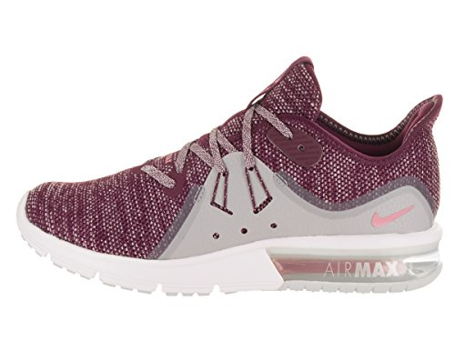 Bordeaux NIKE Running Air Max Pink Women's Sequent Elemental Shoe Grey Wolf 3 rwrf0qXS