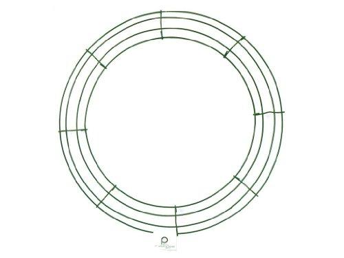 Wire Wreath Frame 16-Green