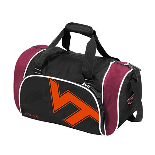 Logo Brands 235-53L NCAA Va Tech Locker Duffel Bag, ()