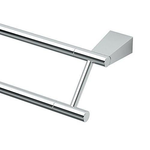 Designer Double Towel Bar (Gatco 4714 Bleu 24