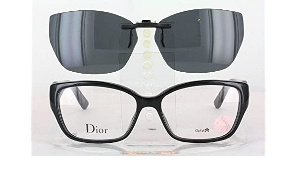 9419ca7c9a3a Amazon.com  CHRISTIAN DIOR CD3267-54X15 POLARIZED CLIP-ON SUNGLASSES (Frame  NOT Included)  Health   Personal Care