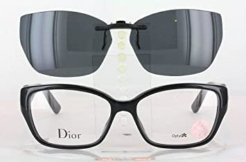 0a68897bba17 Image Unavailable. Image not available for. Color  CHRISTIAN DIOR  CD3267-54X15 POLARIZED CLIP-ON SUNGLASSES (Frame NOT Included)