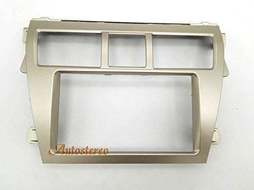 Autostereo Car Stereo Radio Fascia Facia Panel Complete Fitting Kit TOYOTA Vios 2007-2012 Belta 2005-2008 Yaris Sedan 2006+ Silver Car Radio Stereo Facia Frame by Autostereo (Image #4)