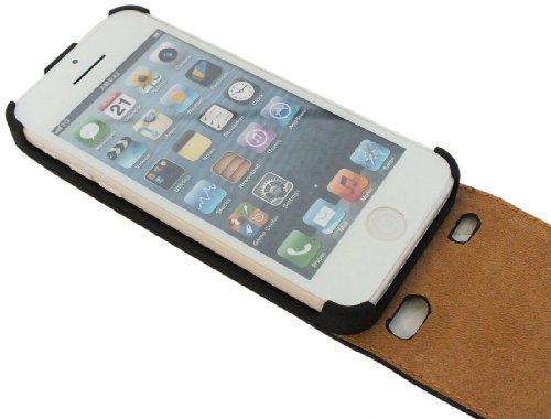 Klapptasche Schutztasche für das Iphone 5C in Pink Tasche Hülle @ Energmix
