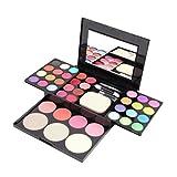 Make Up Palette Set Cosmetics Eyeshadow Lip Gloss Foundation Powder Blusher Puff Tool Makeup Kit