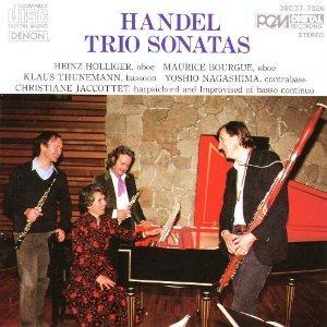 Handel Trio Sonatas George Frideric product image