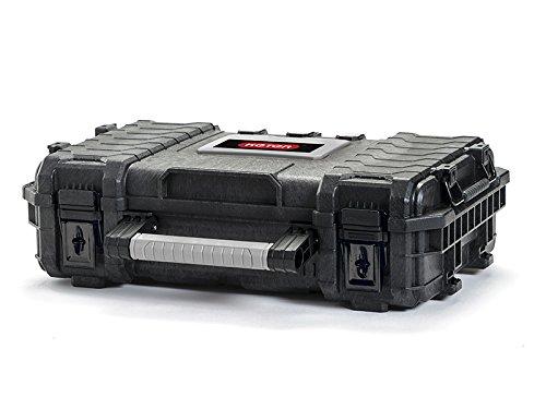 1/unidad gris y plateado color negro 17200382 Malet/ín de herramientas Keter Master Pro Tool Box 22