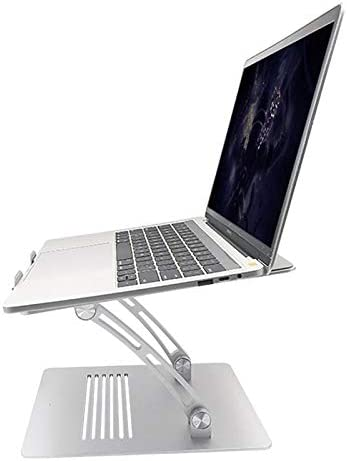 Dell XPS All Laptops 10-17.3 Up to 44 Lbs Ergonomic Adjustable Laptop Riser Computer Stand Fooling Function Compatible with MacBook Pro Lenovo Air Samsung BECROWMUS Laptop Stand