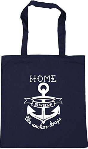 litres Shopping French where Tote is Navy x38cm Gym anchor the 10 drops 42cm Beach Home HippoWarehouse Bag fxUF66