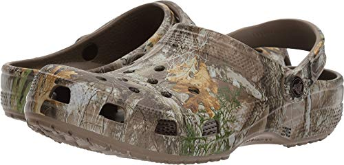 chocolate//khaki Crocs Unisex Adult Offroad Sport Realtree Max-5 II Clog 13 US Women 11 US Men