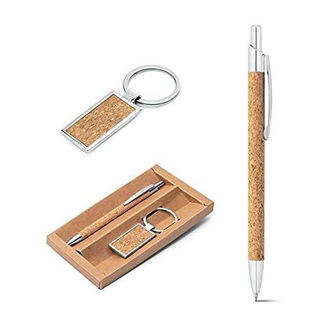 Gloweasy Promotions - Juego de bolígrafo y Llavero de Tinta ...