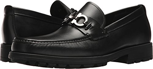 Salvatore Ferragamo Men's David Loafer Black 47 EE EU