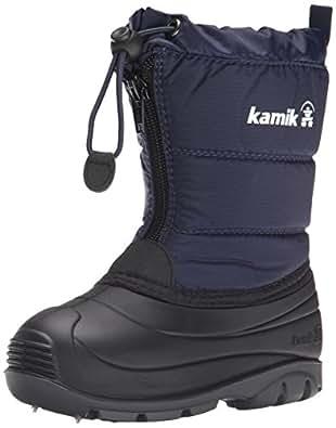 Amazon.com | Kamik Icefollies Snow Boot (Toddler), Navy, 6