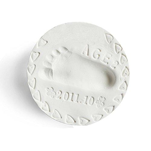 Baby Handprint Footprint Shower Gift Ornament DIY Tabletop Creative Keepsake Perfect Milestone Christmas Present