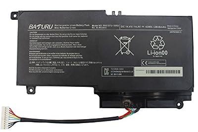 Baturu PA5107U-1BRS Laptop Battery for Toshiba Satellite L45D L50 L55 P55 L55t P50 P55-a5312 P55-a5200 P55t-a5116 S55-a5167 S55-a5275 S55-a5279 S55-a5294 S55-a5295 S55t-a5389 S55-a5236 L55-a5284 by Baturu