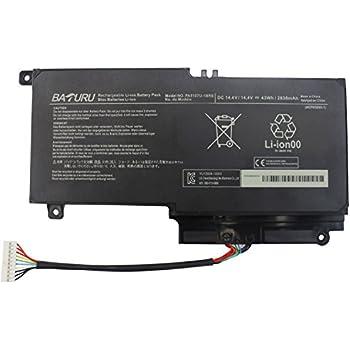 Baturu PA5107U-1BRS Laptop Battery for Toshiba Satellite L45D L50 L55 P55 L55t P50 P55-a5312 P55-a5200 P55t-a5116 S55-a5167 S55-a5275 S55-a5279 S55-a5294 ...