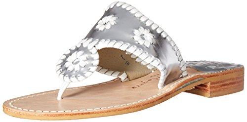 Jacks White Women Sandal Dress Rogers Silver Jack 4vqEn