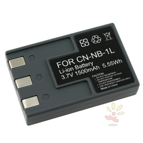 eForCity® 2 PACK Compatible with CANON NB-1LH NB-1L Battery CANNON S410 (Canon Nb 1lh Rechargeable Battery)