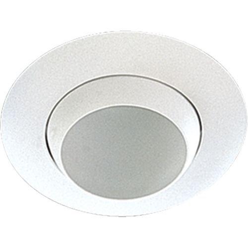 Quorum International 9810 8'' Adjustable Eyeball Recessed Lighting Trim, White by Quorum International (Image #1)