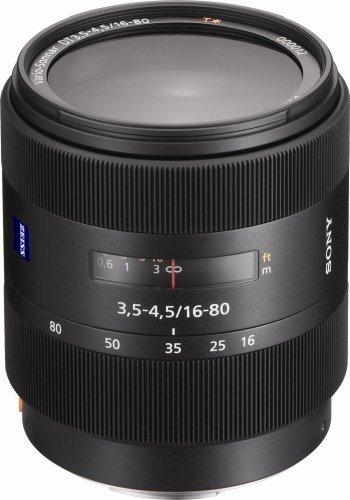 Sony 16 – 80 mm f / 3.5 – 4.5バリオゾナーT DTズームレンズfor Sony AlphaデジタルSLRカメラ(認定Refurbished)   B07BYS93SM