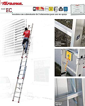 ESCALERA PROFESIONAL EC. FARAONE. LCS (S3400/EC. 14+14+14peldaños ...
